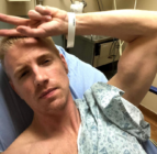 Walking Dead actor Daniel Newman leapfrogged around emergency rooms attempting to acquire a coronavirus testing kit despite showing symptoms. (Instagram)