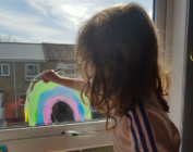 Mumsnet user is angry kids are making rainbows in coronavirus isolation
