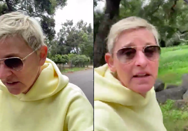 Ellen DeGeneres says she 'misses' her staff during lockdown, but they allegedly don't have the nicest things to say about her
