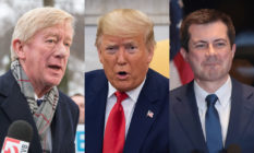 Bill Weld, Donald Trump and Pete Buttigieg