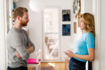 An ex-husband broke into his former wife's home and unleashed a torrent of homophobic abuse simple because she was in a new relationship with a woman. (Stock photo via Elements Envato)