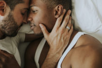 Around two in 10 LGBT+ people would consider hooking-up with someone amid the coronavirus pandemic, but researchers suggest it's to fill a loss of intimacy more than anything. (Stock photo via Elements Envato)