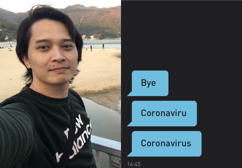 Michael Rivera has spoken out about the racism he has faced on Grindr as an Asian man since the coronavirus pandemic seized daily life. (Twitter)