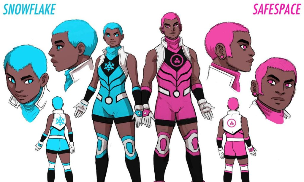 Marvel Comics announces its first non-binary superhero, Snowflake