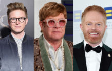 Elton John Tyler Oakley Jesse Tyler Ferguson redhead men of the year