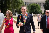 Virginia governor Ralph Northam with his wife, Pam