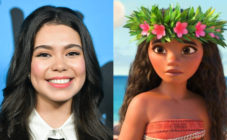 Auliʻi Cravalho played Moana in the eponymous Disney film. (Rodin Eckenroth/WireImage via Getty Images/IMDb)