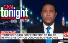 Don Lemon Donald Trump coronavirus COVID-19