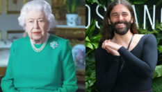 Even Jonathan Van Ness watched the Queen address the COVID-19 crisis