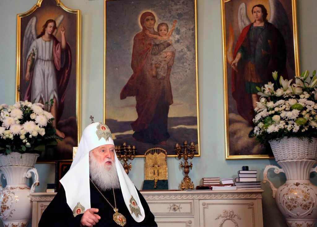 Patriarch Filaret gay same-sex marriage coronavirus