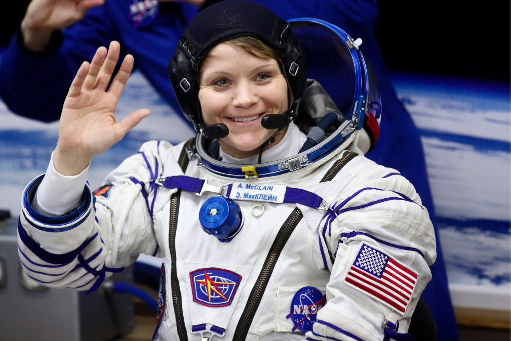 NASA astronaut Anne McClain was accused of space crimes by her estranged wife