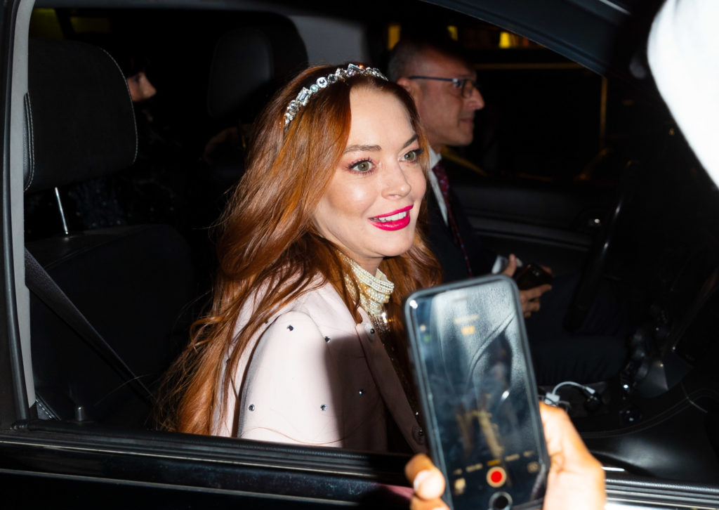 Lindsay Lohan vastly shied away from the spotlight since her dip into rehab and the court system. (Gotham/GC Images)