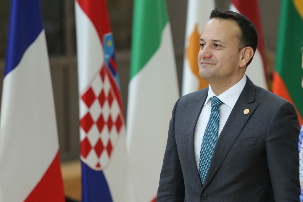 Irish leader Leo Varadkar