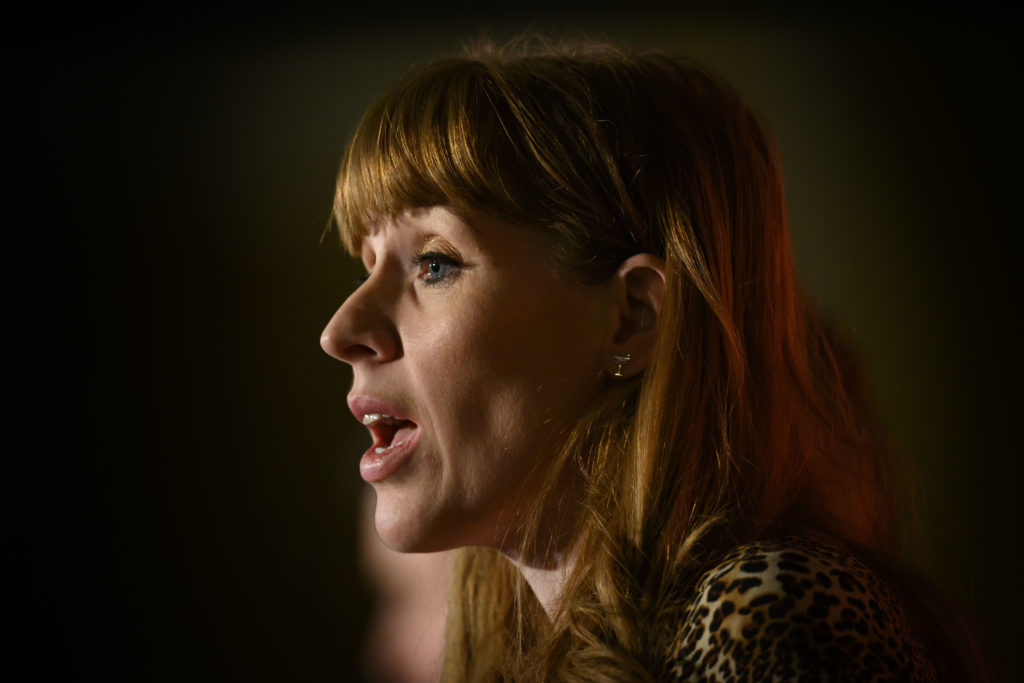 Within weeks of announcing her deputy bid, Angela Rayner barrelled into the lead. (Matthew Horwood/Getty Images)