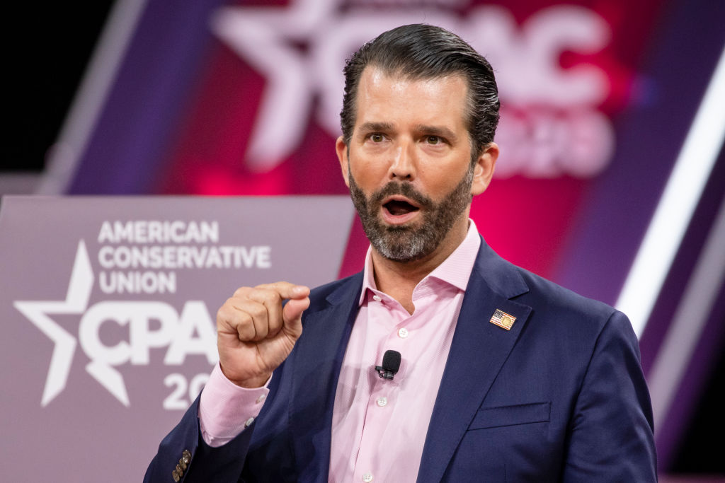 Donald Trump Jr wants his dad to pardon Joe Exotic 'just for the meme'