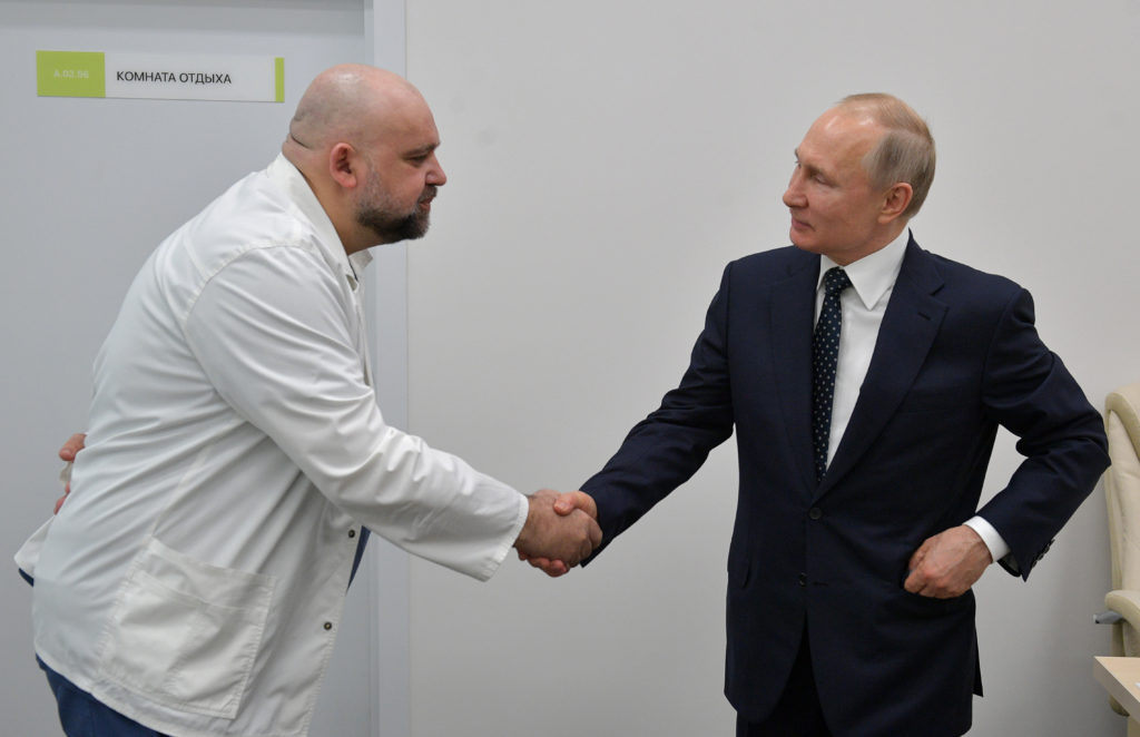Russia's homophobe-in-chief is self-isolating after coronavirus hospital chief tests positive
