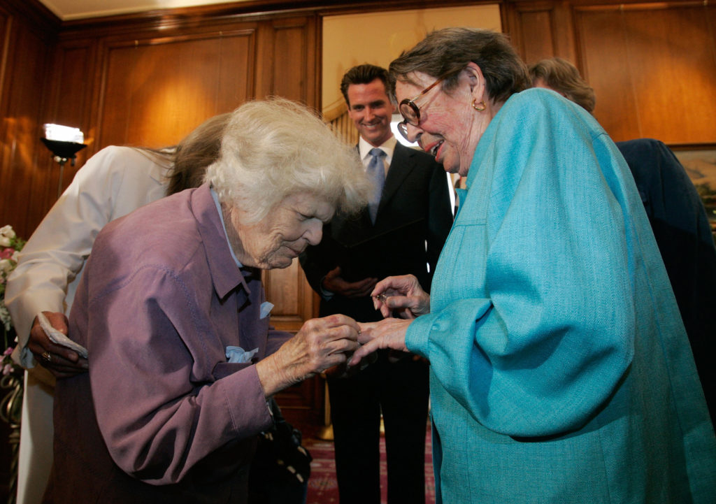 Phyllis Lyon, pioneering lesbian activist, has died at the age of 95