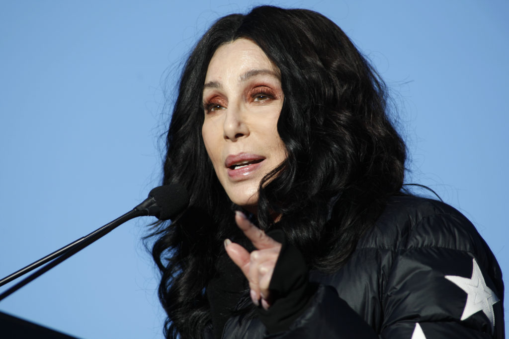 As a scarcity of personal protective kits for healthcare works pelts the US, the epicentre of the coronavirus pandemic, some have called on Cher to speak out. (Sam Morris/Getty Images)