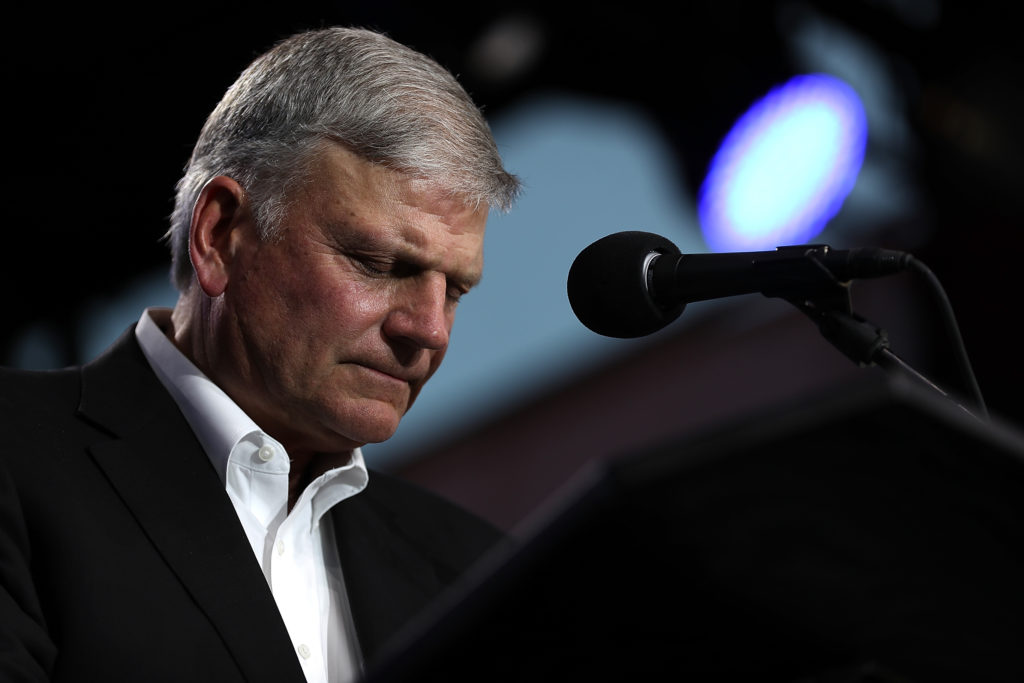 Franklin Graham Donald Trump New York tent hospital
