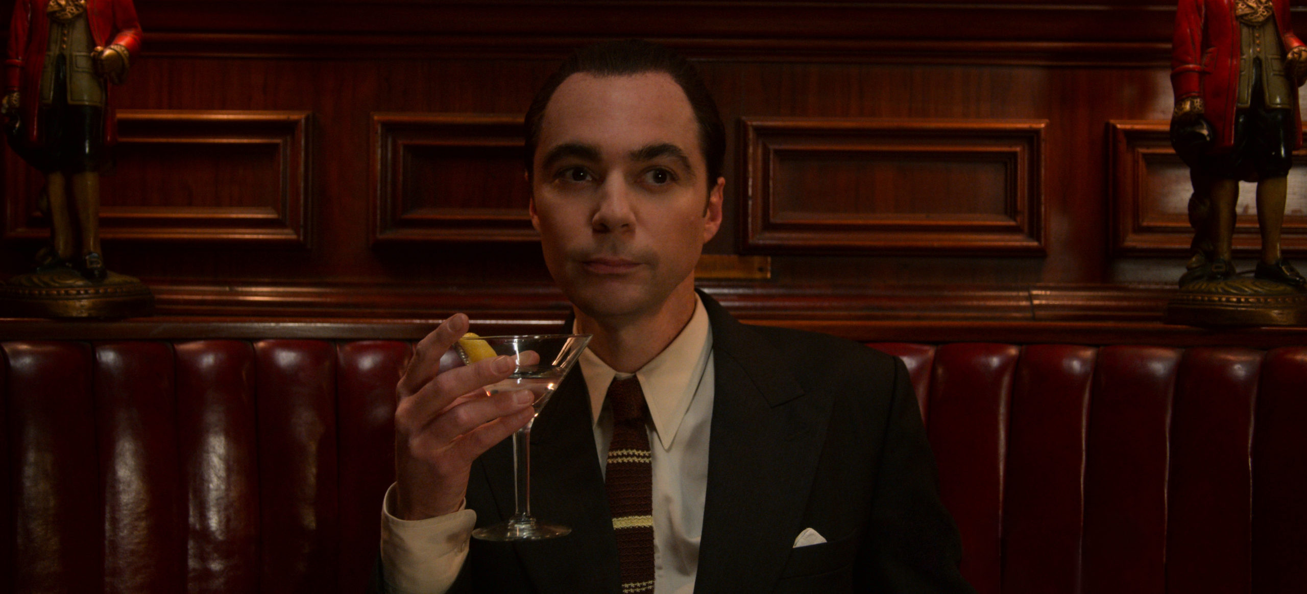 Jim Parsons as Henry Wilson in the new Ryan Murphy series Hollywood
