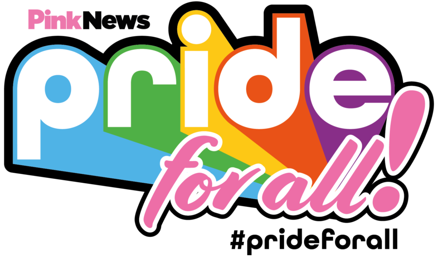 PinkNews Pride for All Logo