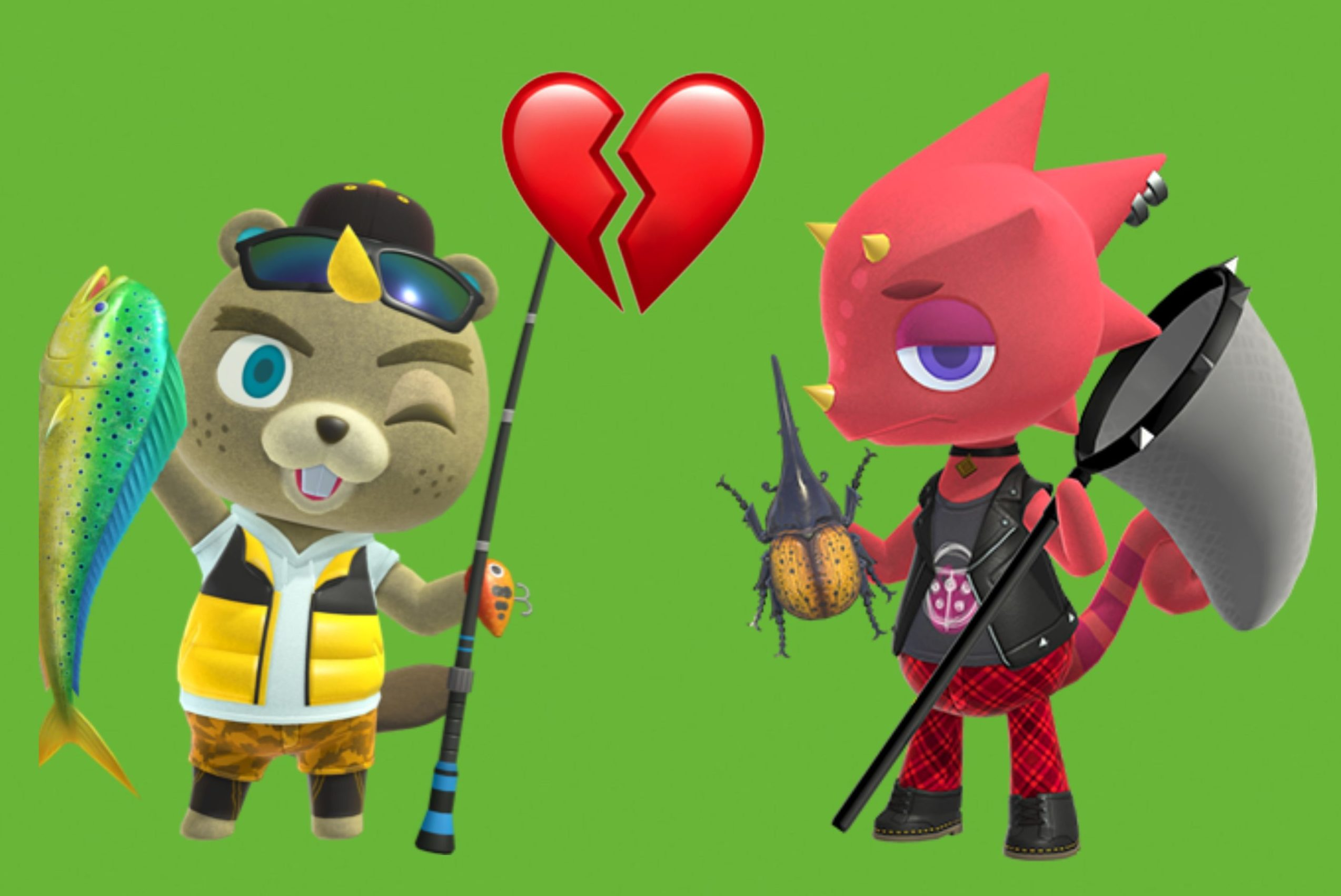 Animal Crossing Nintendo Shuts Down Rumours Two Characters Are Gay