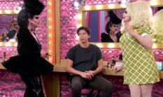 Shannel, Trixie Mattel and Jordan Connor on Celebrity Drag Race