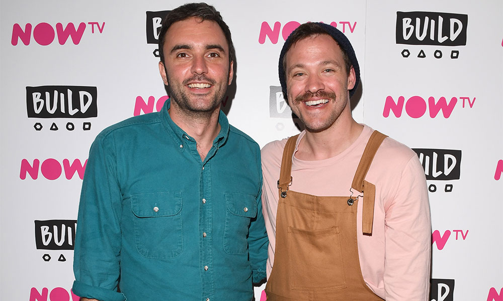 Will Young and Chris Sweeney