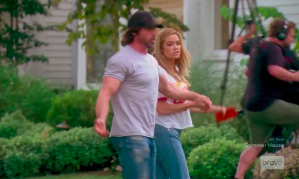 Denise Richards took her husband Aaron Phypers off the Real Housewives se