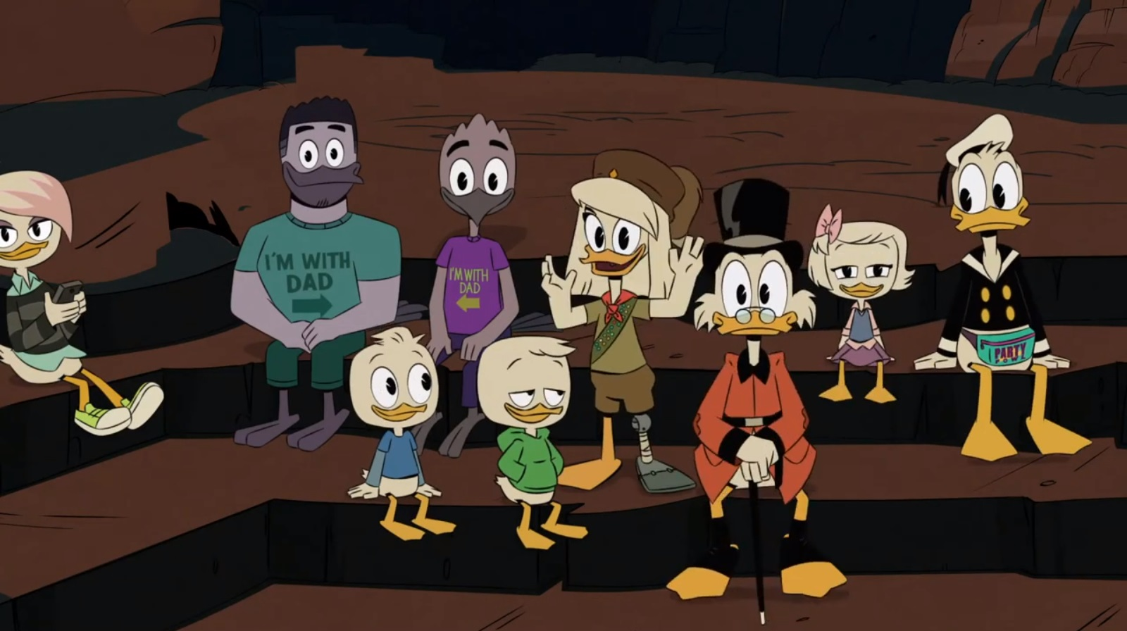 DuckTales revealed that Violet has two gay dads