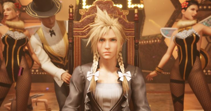 Final Fantasy 7 Remake cross-dressing sequence
