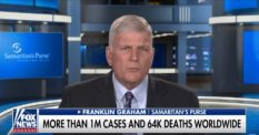 Anti-LGBT Franklin Graham went on Fox News to speculate wildly about coronavirus