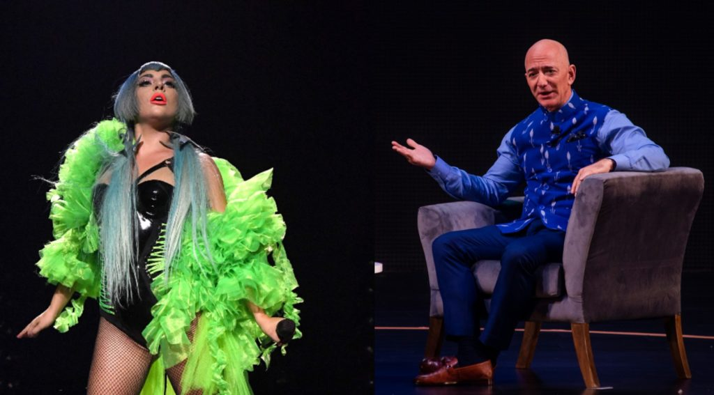 Lady Gaga raises $35m for coronavirus; Jeff Bezos didn't end world hunger