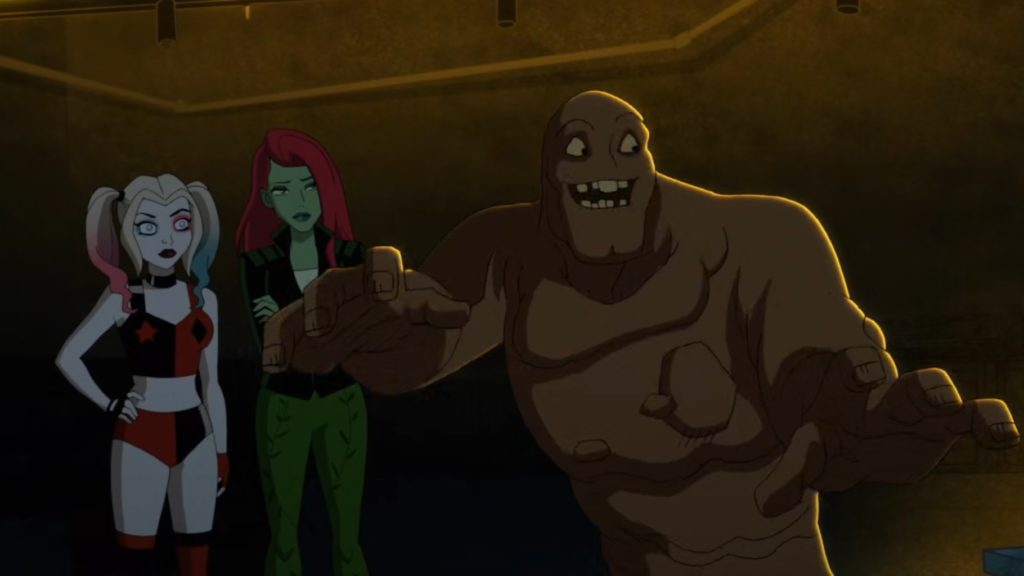 Harley Quinn featured the villain Clayface