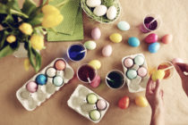 """A surreal website claimed that gay people are """"lacing Easter Eggs with homosexual-inducing food colorings"""". Yes, really. (Stock photograph via Elements Envato)"""