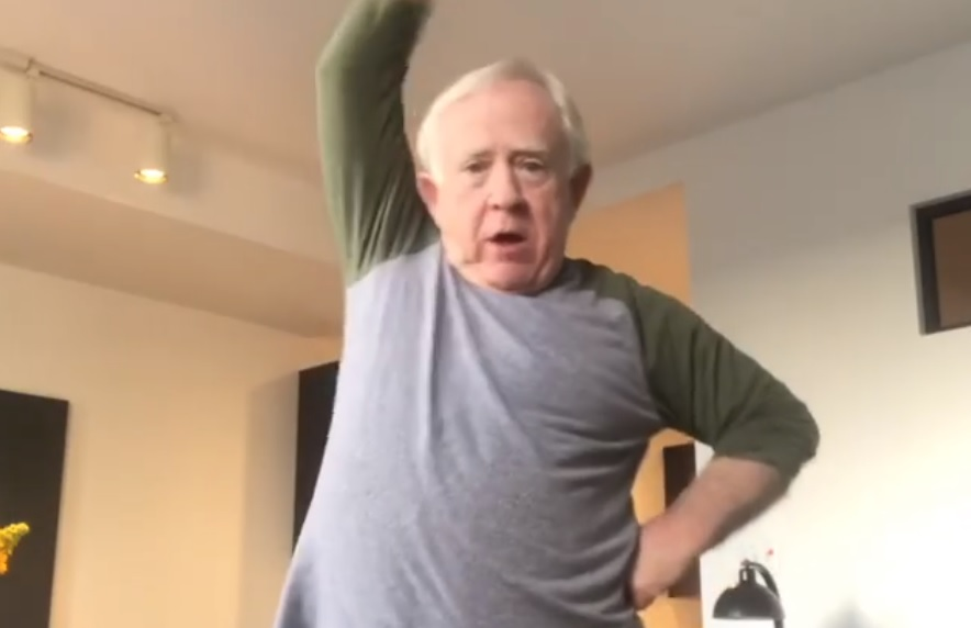 Will & Grace star Leslie Jordan is providing hilarious lockdown updates to get everyone through these trying times