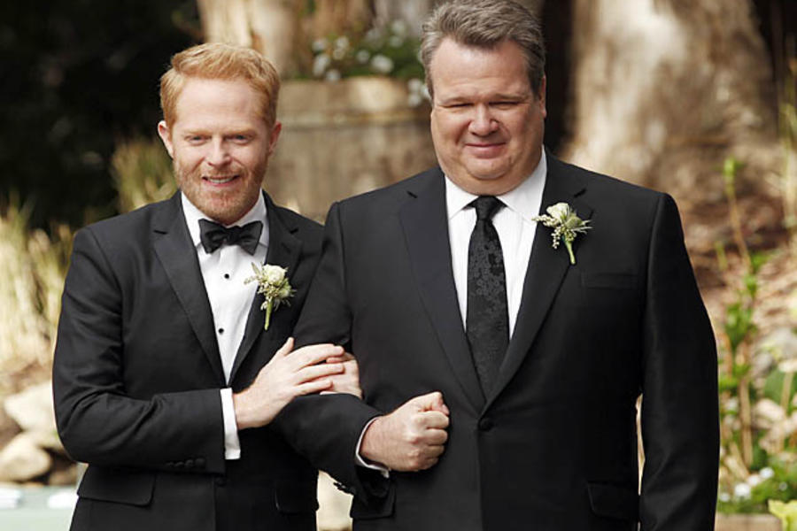 Modern Family's Mitch and Cam getting married