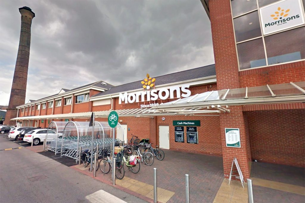 Guy thinks a pandemic is the perfect time to be homophobic in Morrisons