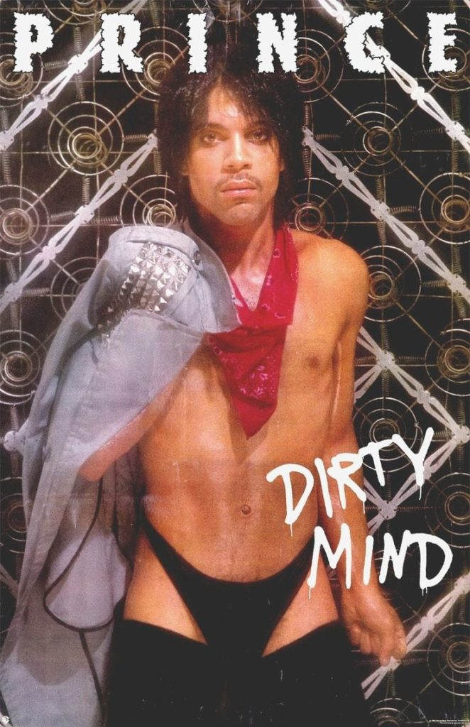 Prince's Dirty Mind album cover poster