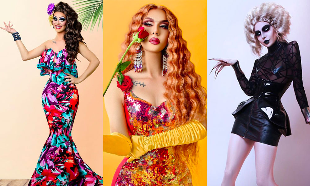 Trinity the Tuck paid tribute to Bianca Del Rio, Sasha Velour and Sharon Needles.