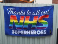 NHS Pride Flag