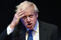 Boris Johnson Speaks At A Conservative Home Fringe Meeting