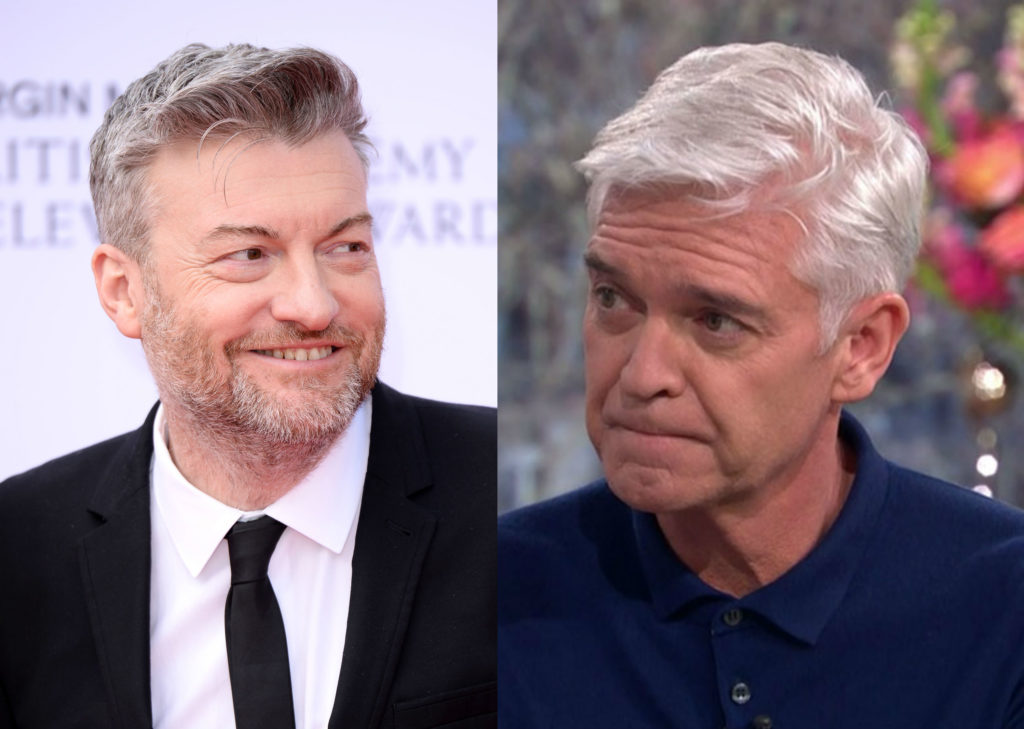 Charlie Brooker looked back to February 7, when This Morning presenter Phillip Schofield came out as gay