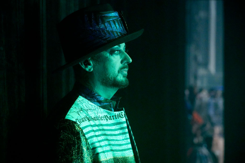 The singer Boy George, who was jailed in 2009 for imprisoning a male escort