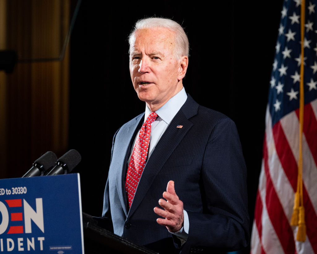 Former Vice President Joe Biden, the presumptive Democratic Presidential nominee