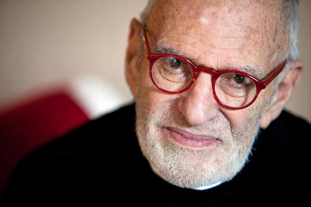 The playwright and AIDS activist Larry Kramer had died