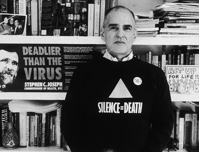 AIDS campaigner and gay rights activist Larry Kramer, founder of ACT-UP and the Gay Men's Health Crisis