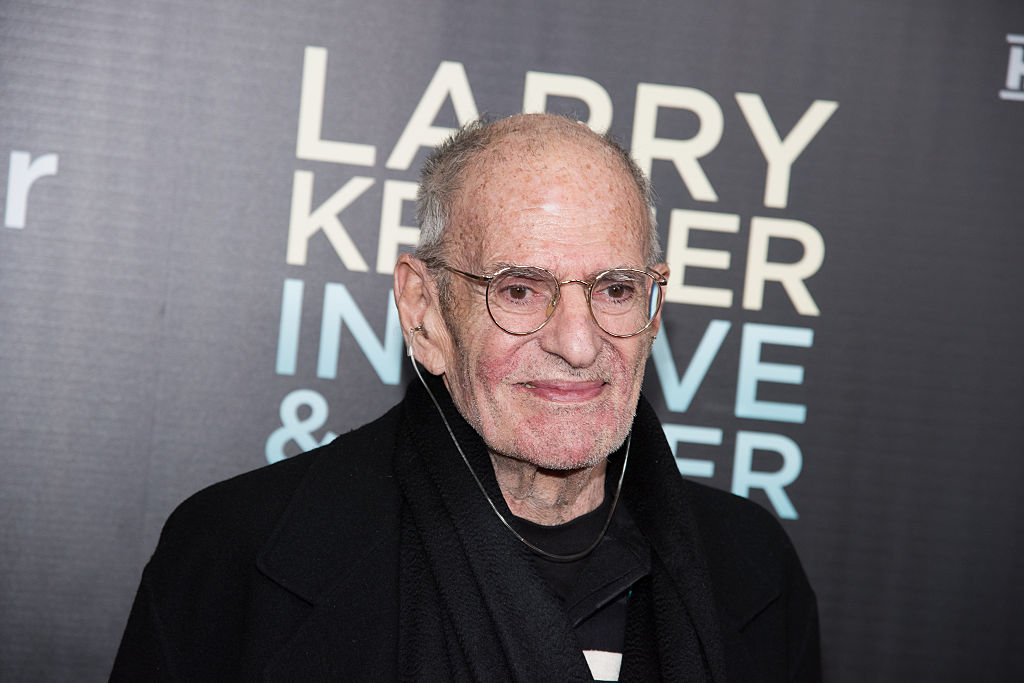 The legendary activist Larry Kramer in 2015