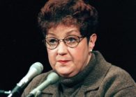 Norma McCorvey, 1998, also known as Jane Roe in Roe v Wade, the case that legalised abortion in the US