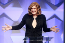 trans matrix Director Lilly Wachowski accepts award for Outstanding Drama Series onstage during the 27th Annual GLAAD Media Awards at the Beverly Hilton Hotel on April 2, 2016
